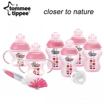 英國Tommee Tippee Closer to Nature® PP印花奶瓶套裝
